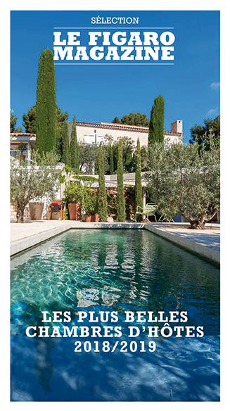 Couverture du Guide des plus belles chambres d'hôtes du Figaro Magazine